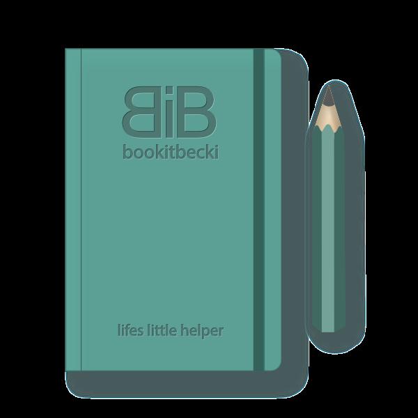 light green moleskine book & pencil - lifes-little-helper - bookitbecki